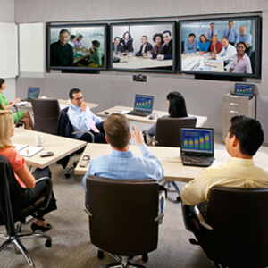 Menu Image Conference Room Video Conferencing