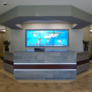 Video Walls for Entrances & Lobbies